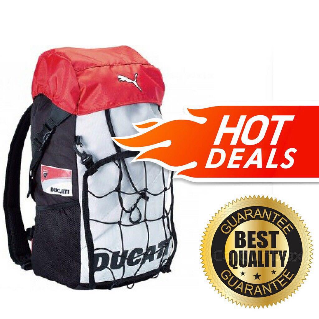 0fe783e018a9 FREE POSTAGE + FREE GIFT!! Puma x Ducati Backpack