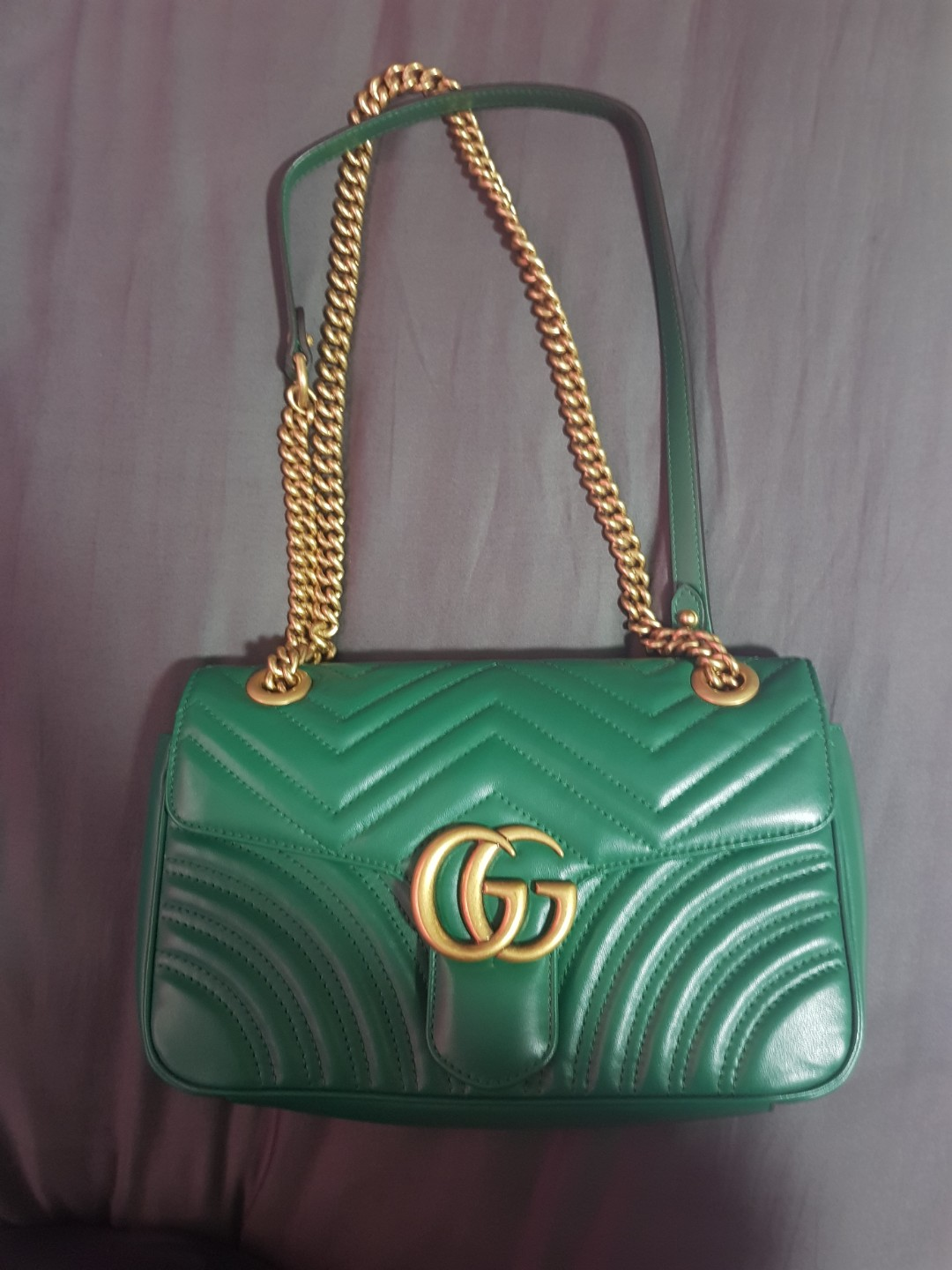efffc0b68 Gucci Marmont Medium Quilted-leather, Luxury, Bags & Wallets ...