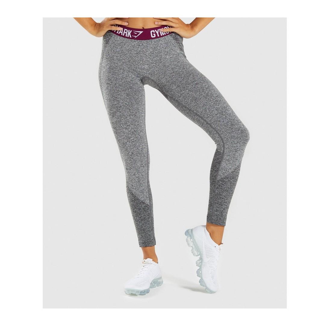 18a0b12f7770b Gymshark Flex Leggings, Sports, Sports Apparel on Carousell
