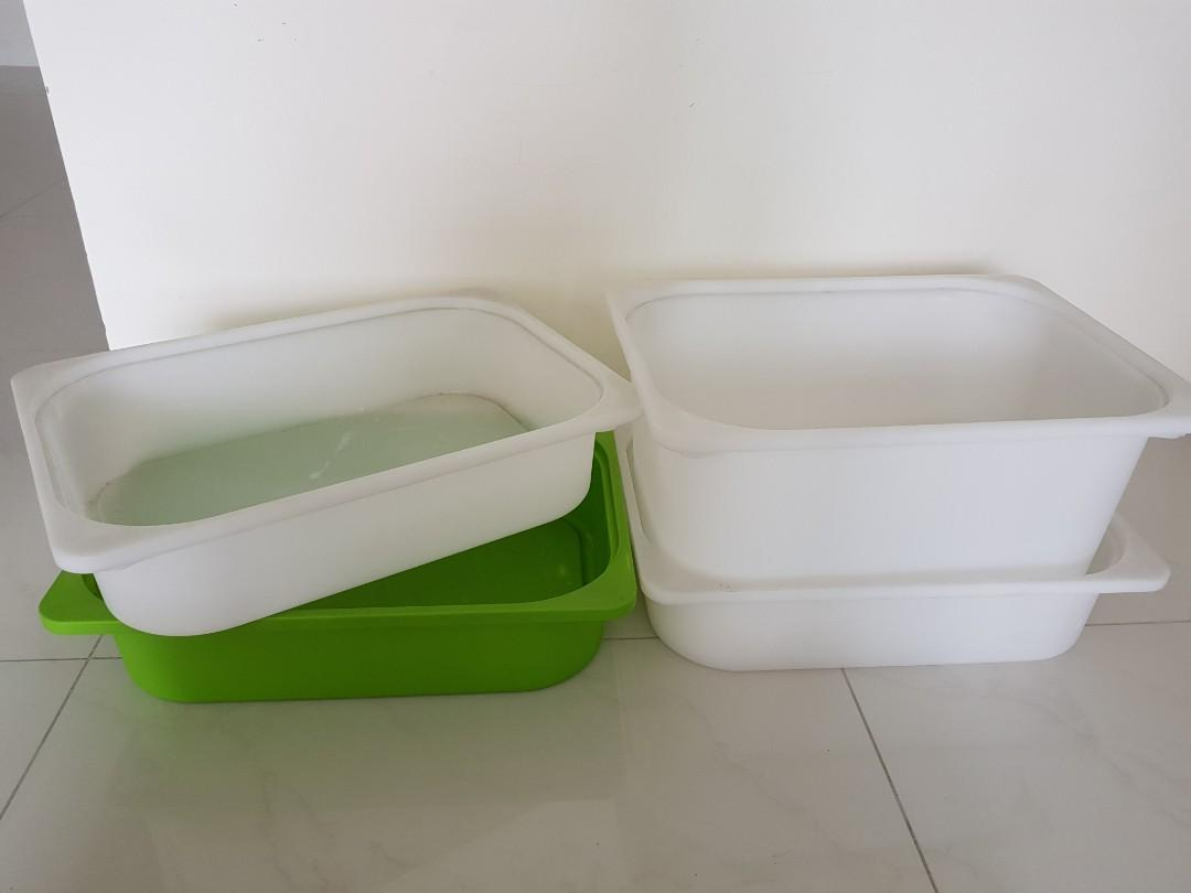 Ikea Trofast Storage Boxes Furniture Others On Carousell