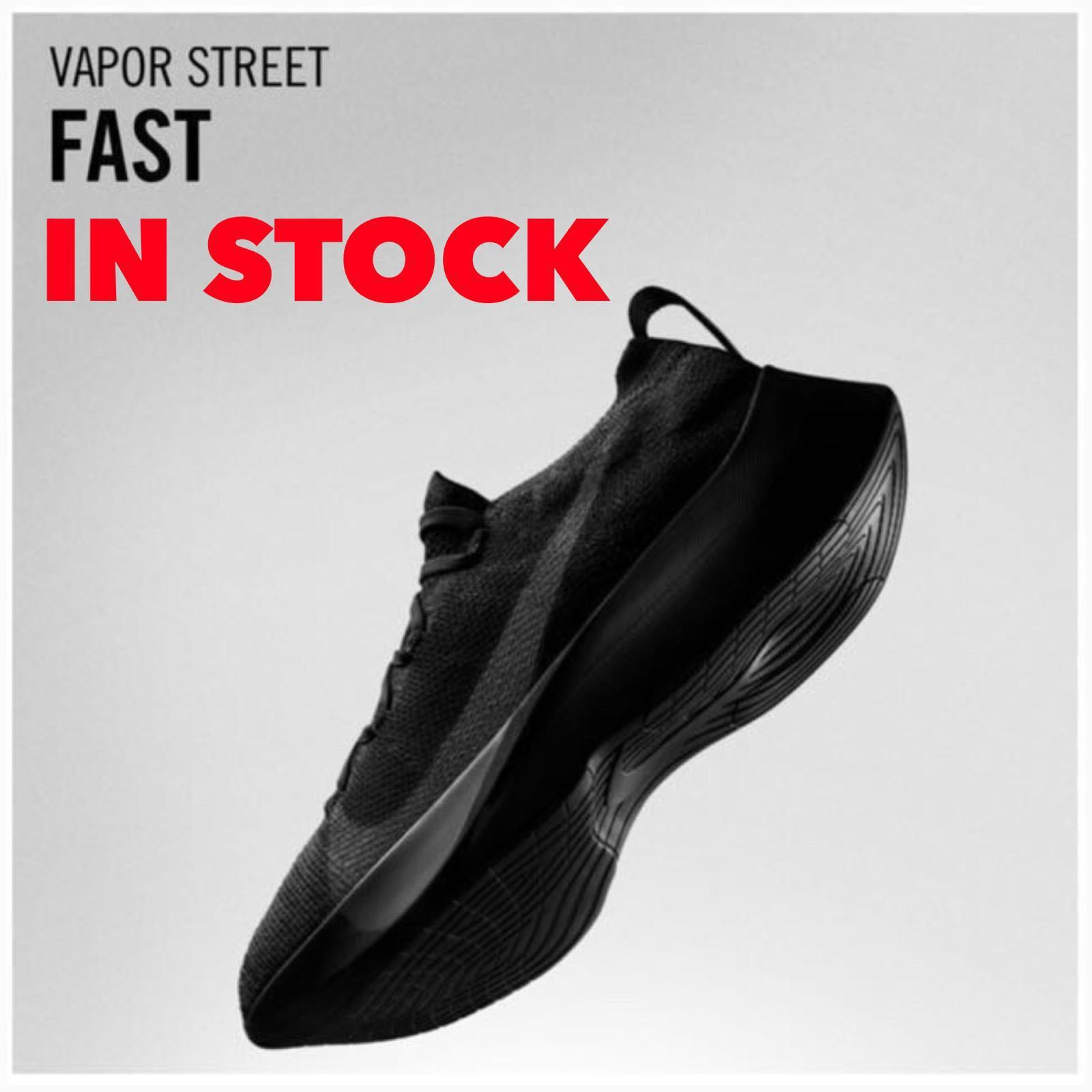 89b5bd4b In Stock Men's Nike Vapor Street Flyknit|BLACK|Updated Actual Photos ...