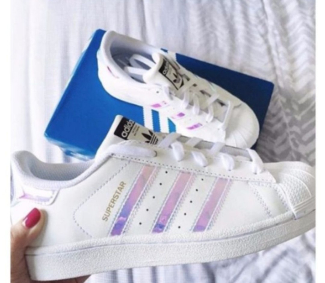 986da34cae386 INSTOCK  Adidas Superstar Holographic Iridescent Hologram Shoes ...