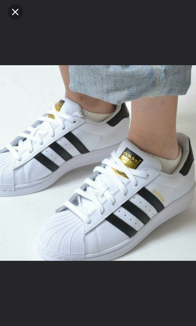 huge selection of 9a85e 23731 INSTOCK  Adidas Zapatos Superstar Zapatos Adidas (BNIB), Mujer Fashion,  Zapatos 19423f