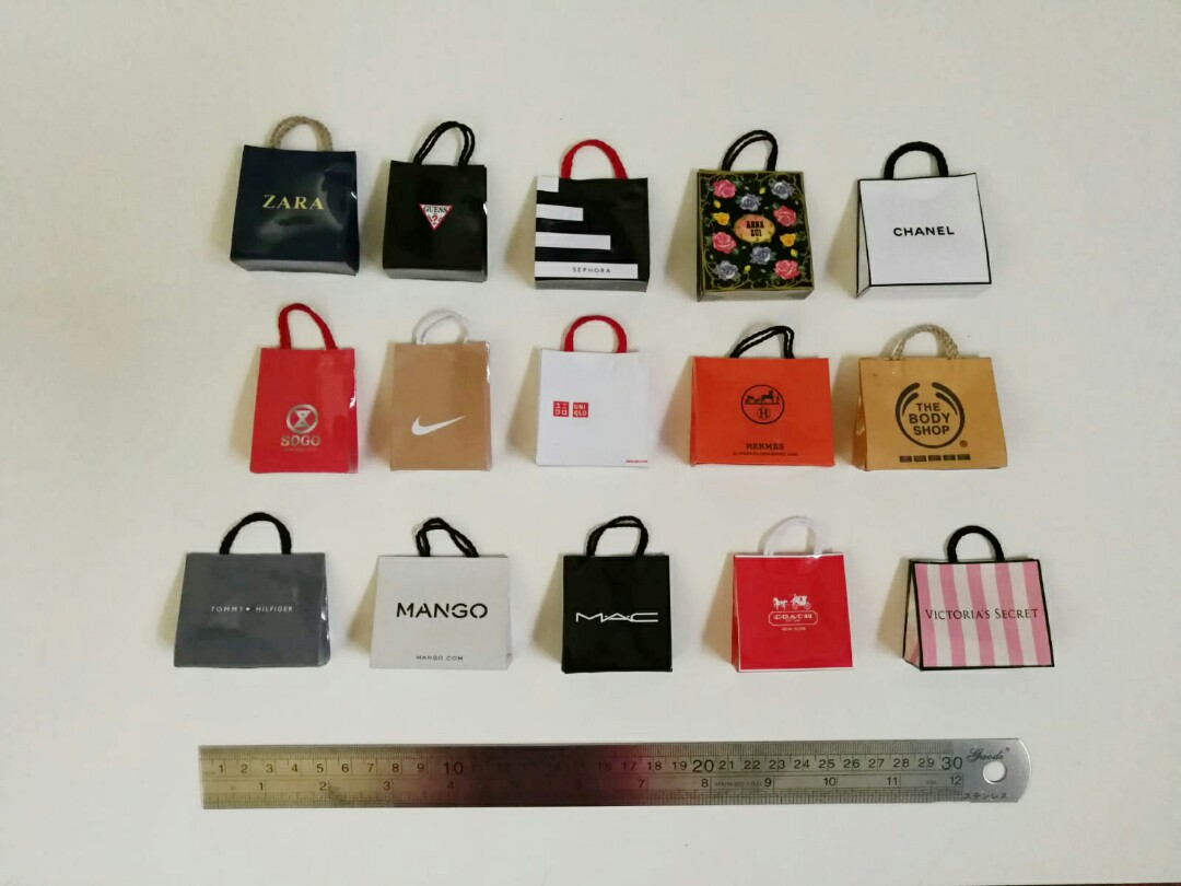 Instock Miniature Ping Bag Magnets Keychains Under9 Design Craft Handmade On Carou