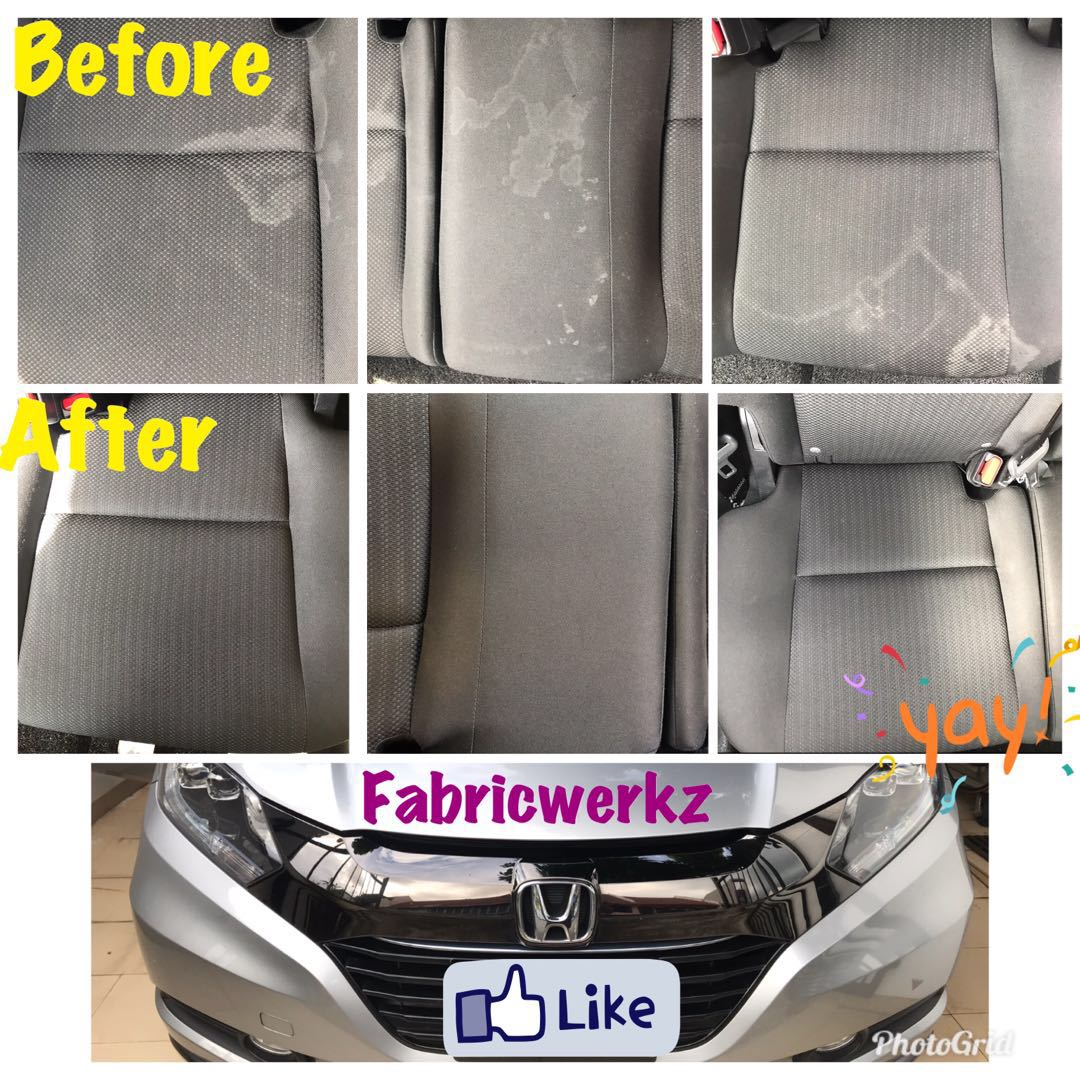 Interior cleaning fabric Honda vezel