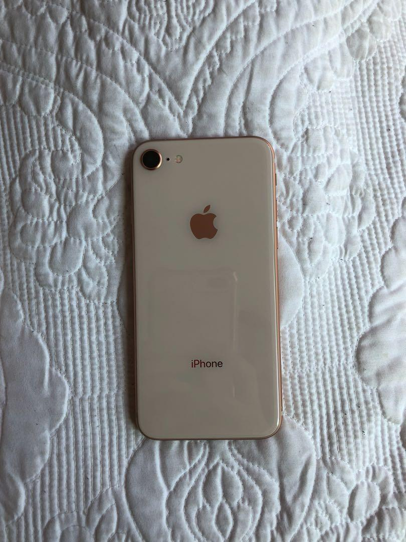 iPhone 8s 64GB UNLOCKED ROSE GOLD✨