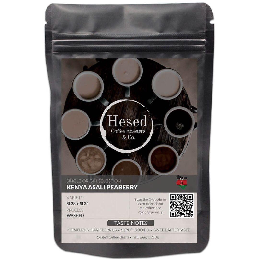 Kenya Asali Peaberry Roasted Arabica Coffee Bean Food Drinks Munieq Tetra Drip Red 01p R Beverages On Carousell