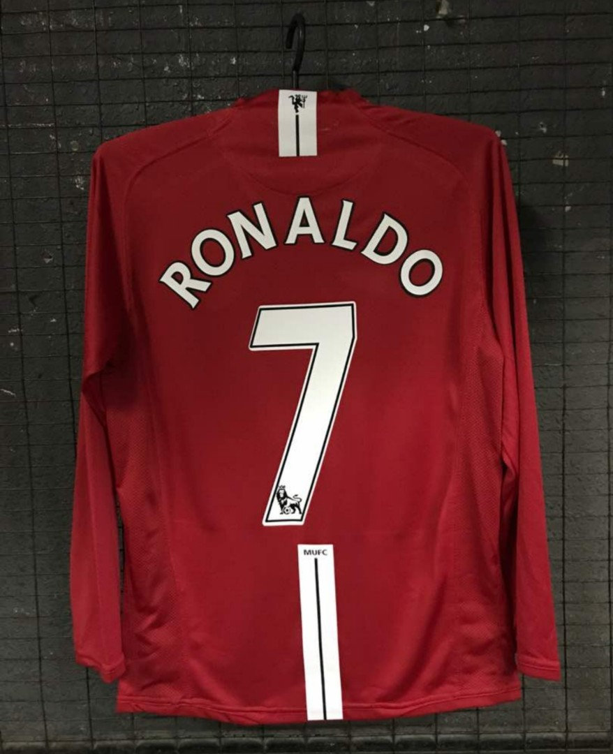 54b3479ee Manchester United 2007 08 Retro Jersey