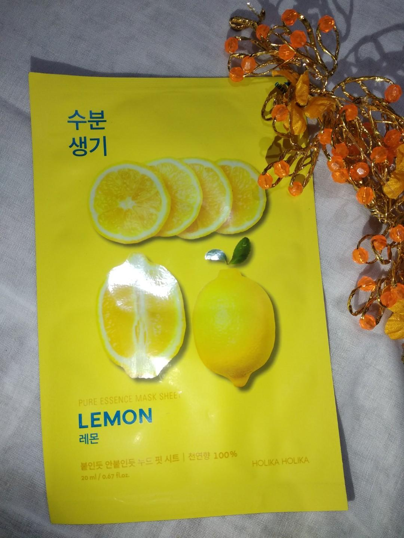 Masker holika holika - lemon