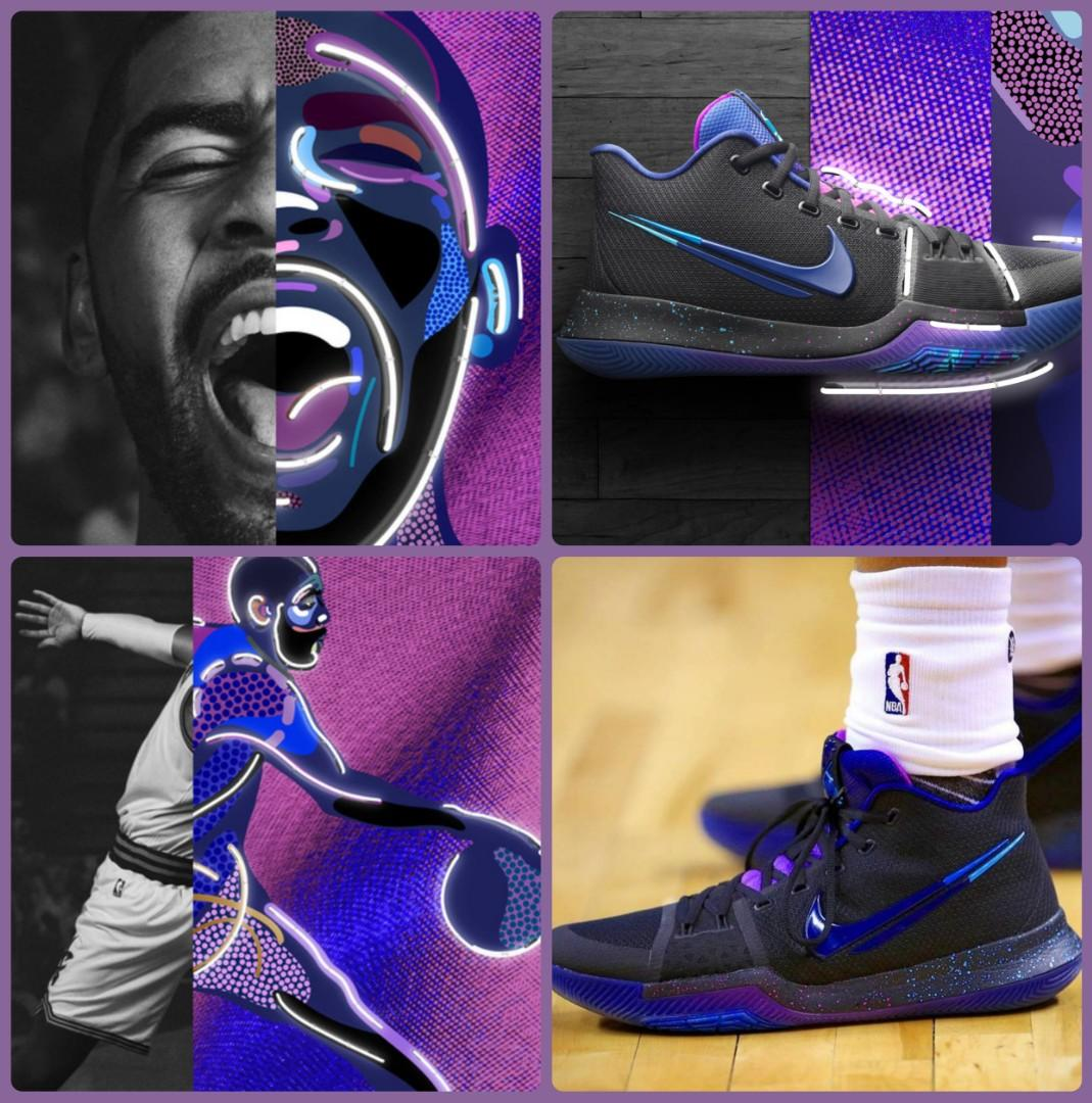 new styles cd5e5 a4bd0 NIKE Kyrie 3 Flip the Switch, Men's Fashion, Footwear ...