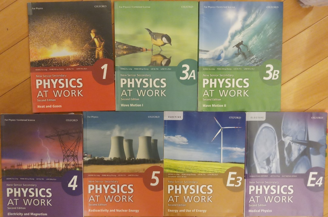 NSS Physics At Work Textbooks On Carousell