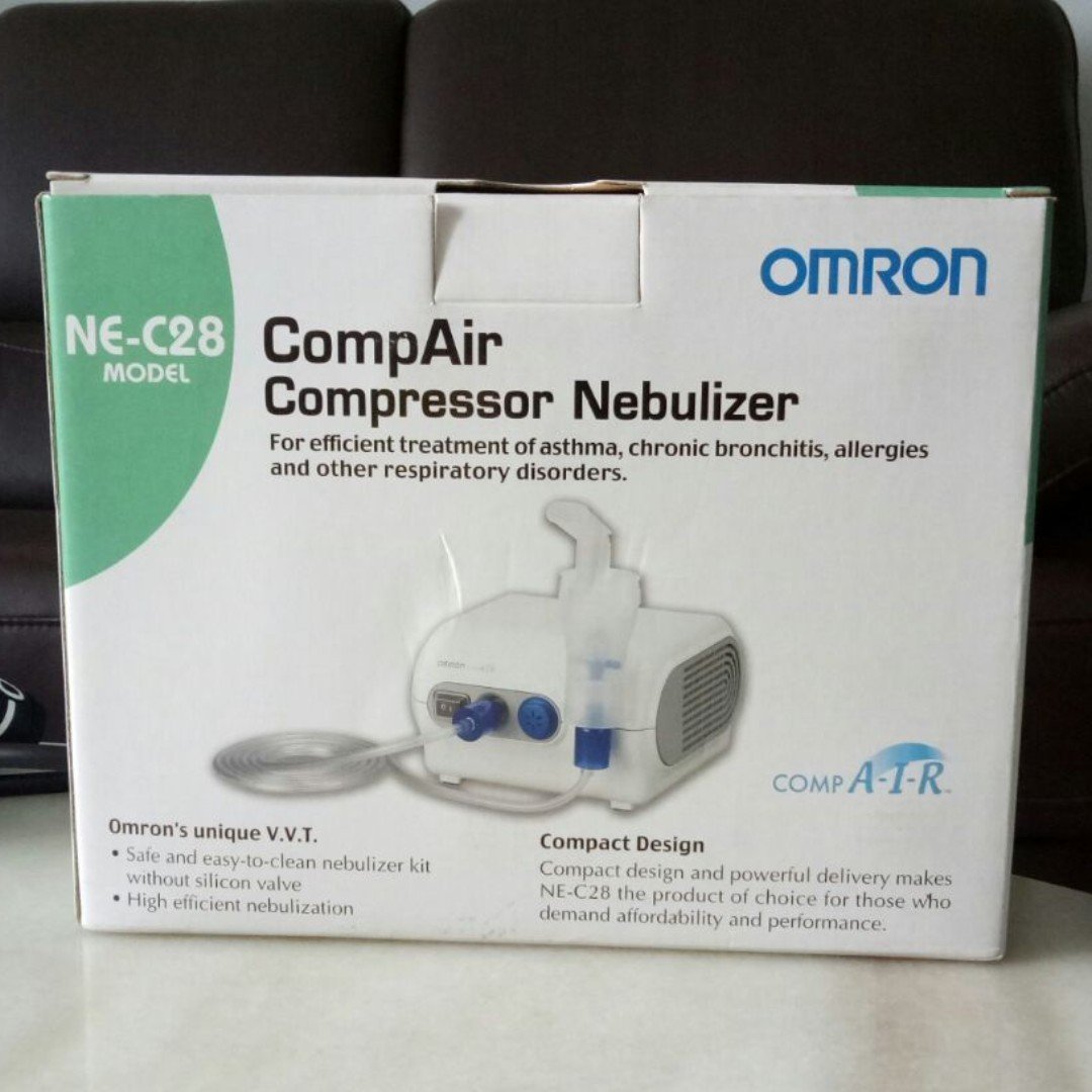 Omron Compressor Nebulizer Assistive Devices Health Monitors Ne C28 Gadgets On Carousell
