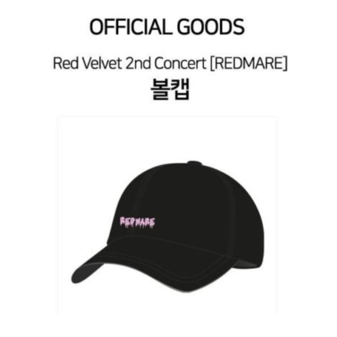 ff8659c4879 PO  Red Velvet 2nd Concert Redmare Official Goods Ball Cap ...