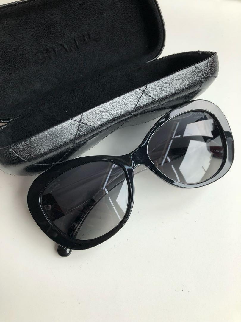 d8f3a60693e Preloved Chanel Authentic Sunglasses