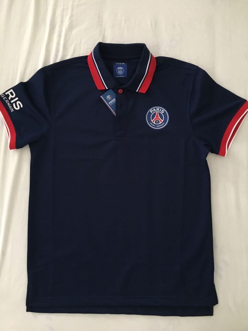54a368c18d2 PSG Dark Blue polo jersey ( Small - Men ), Sports, Sports Apparel on ...