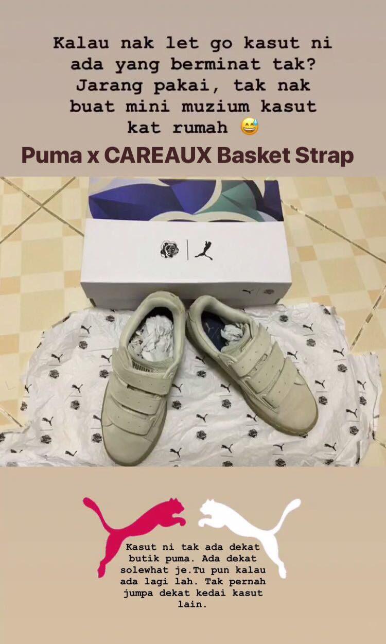 Carousell Basket Strapwomen's 6fyb7gyv Careaux X On Puma Fashionshoes GzUSVpqM