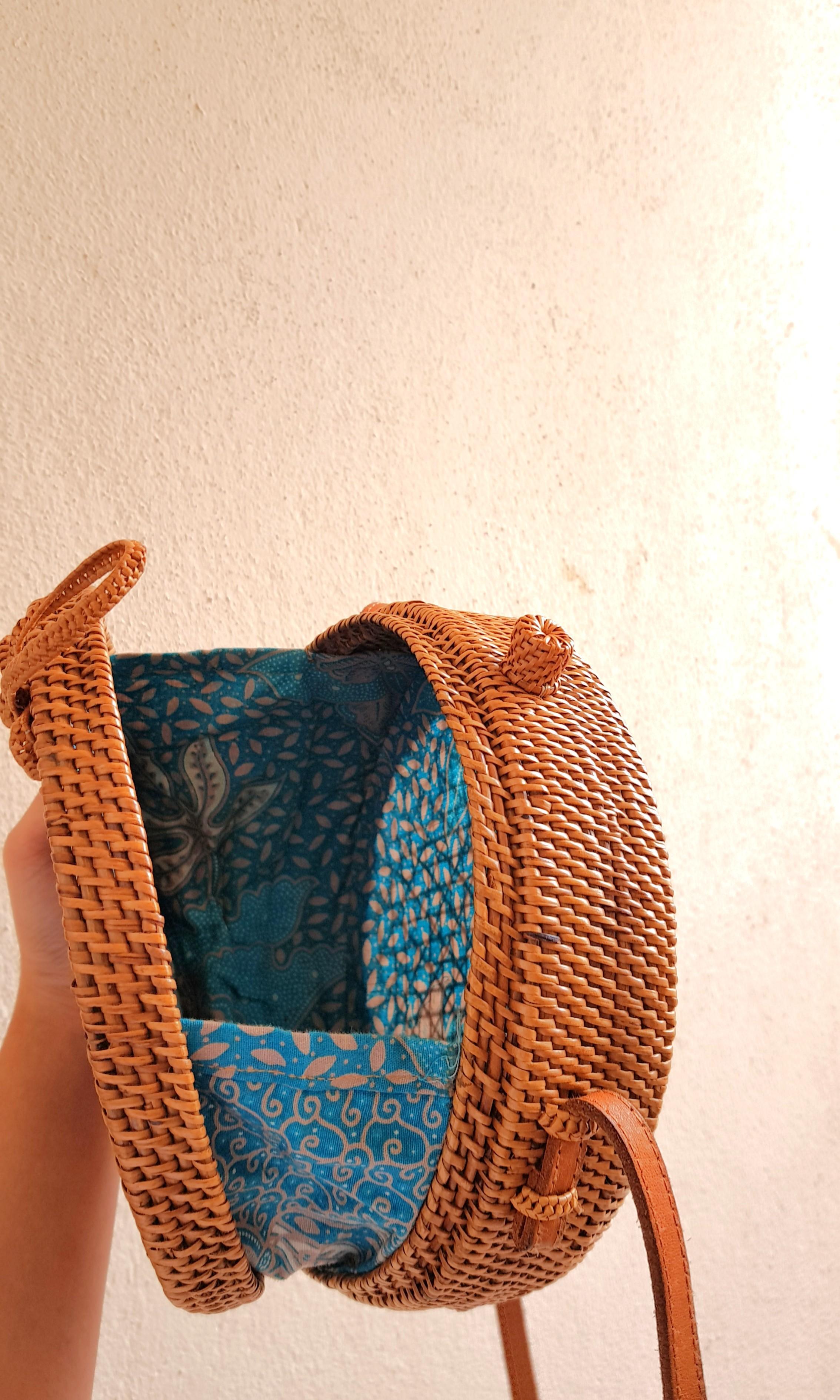 Rattan Bag Price Markdown