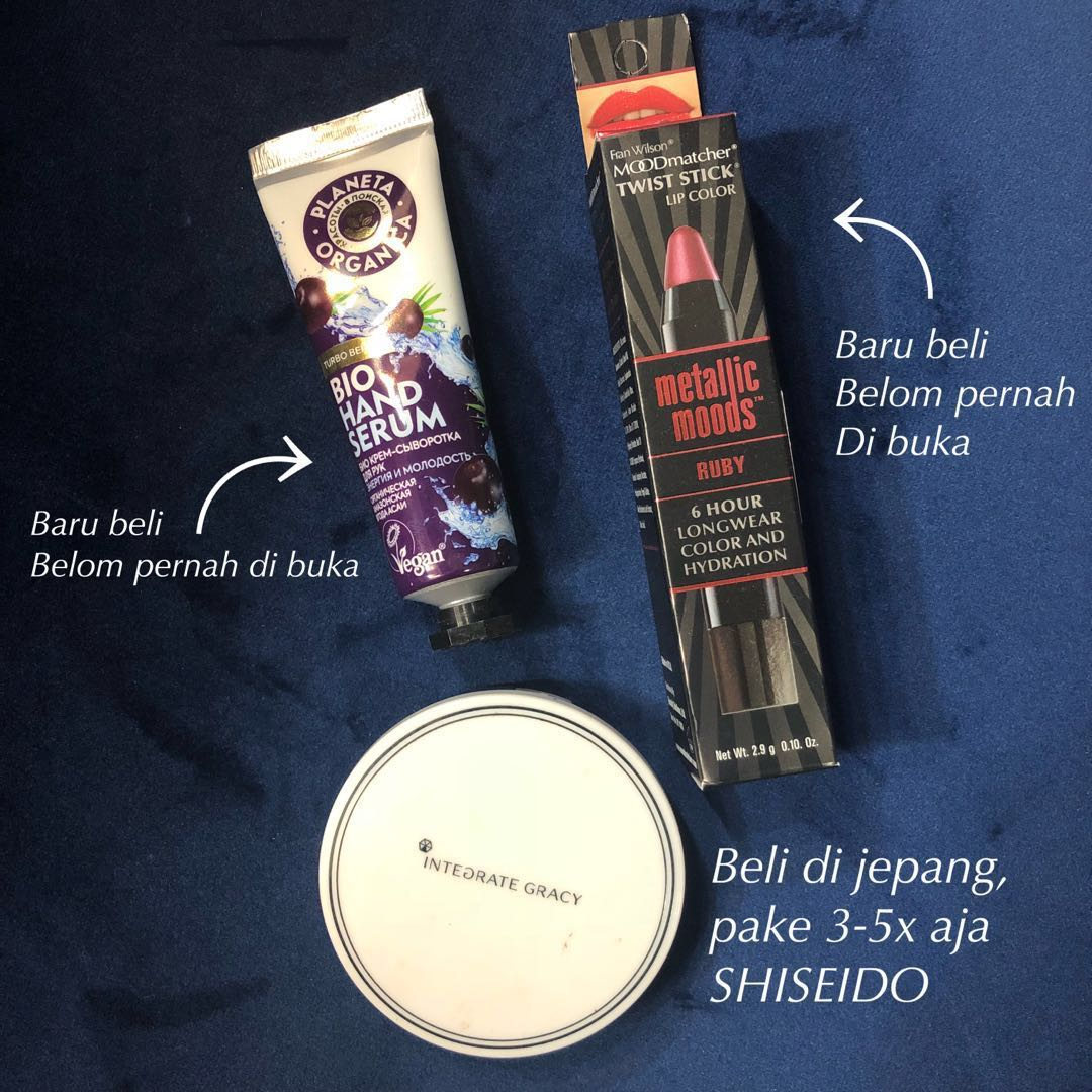 Fran Wilson MOODmatcher Twist Stick Metallic Moods Lip Color Source · Set Makeup Shiseido Hand Cream Lipstick Kesehatan Kecantikan Moodmatcher Metallic ...