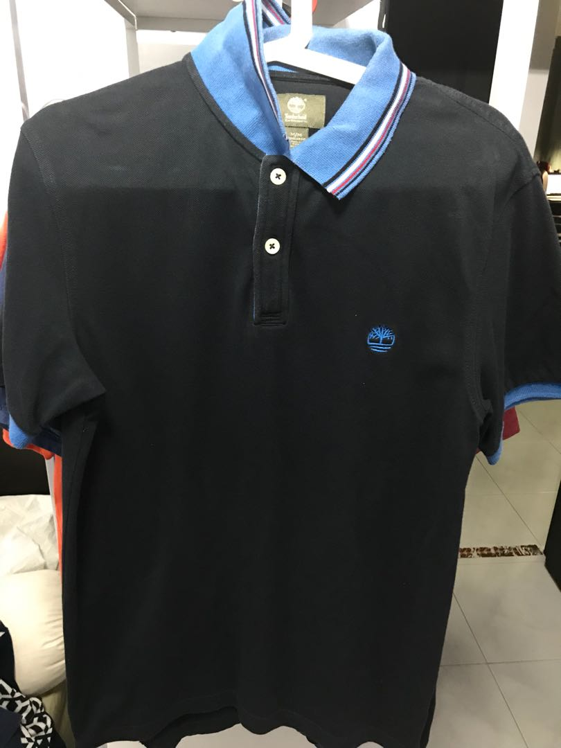 6506e9e68 Timberland Polo shirt, Men's Fashion, Clothes, Tops on Carousell