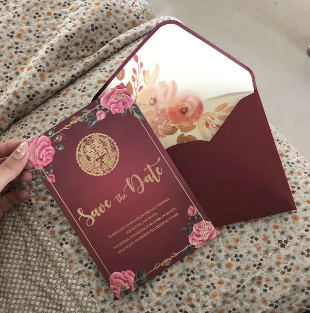 Wedding invites, Design & Craft, Others on Carousell