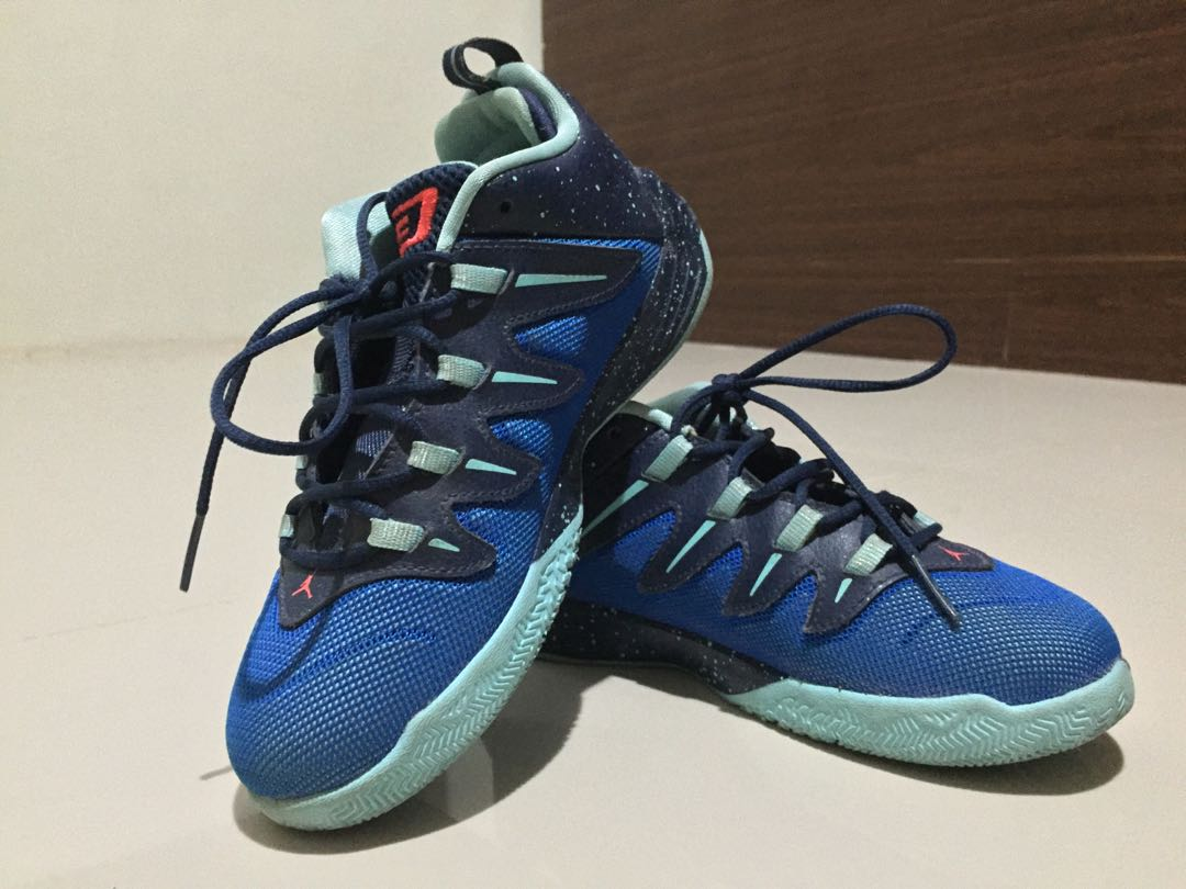 Youth Chris Paul Jordan Blue Navy CP3.IX Shoes 7f40187e8