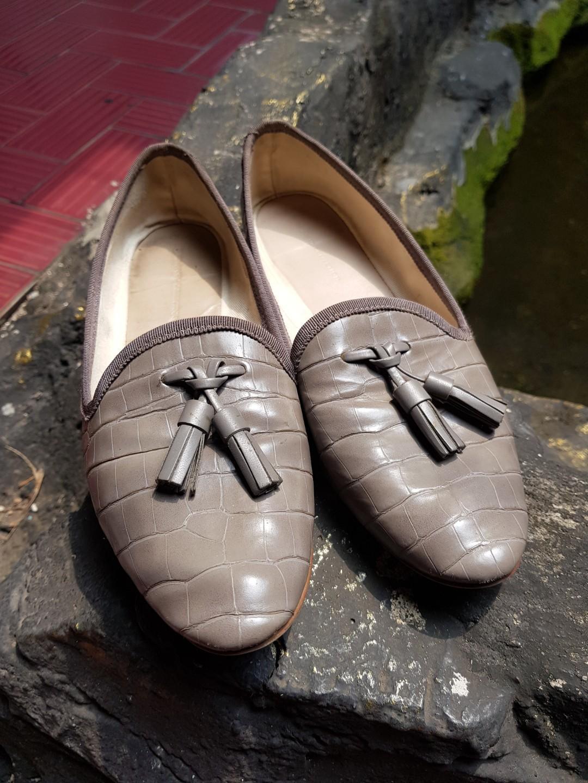 Zara flat shoes size 38