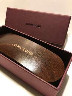Authentic JOHN LOBB shoes brush