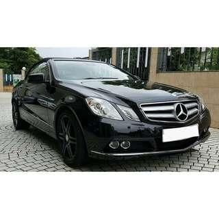 MERCEDES-BENZ E250 2011 cab