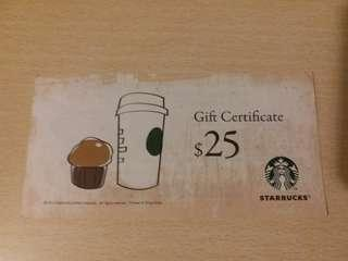 Starbucks Coupon 現金券