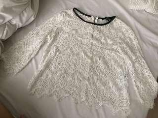 Repriced! F21 white top
