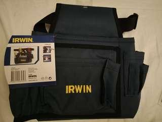 Irwin builder and nails tool pouch