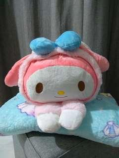 Bunny My Melody With Blanket