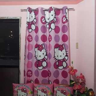 Us curtain w/ ring