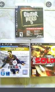 PS3 Games (RM 40 each including postage to Semenanjung)