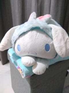 Bunny Cinnamoroll With Blanket