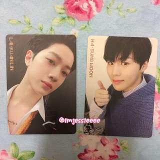 WTS Wanna One IPU Photo Card