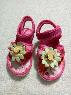 Toddler Girl Floral Sandals