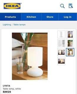 Ikea LYKTA Table Lamp #MYCYBERSALE #mcshome #under90