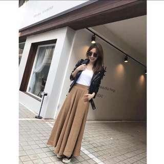 🚚 Sammy style 韓 咖色褲裙