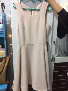 Short Dress Casual Tanpa Lengan
