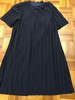Black Pleated Dress Young Hungry Free