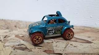 Hotwheels Beetle baja jungle rally