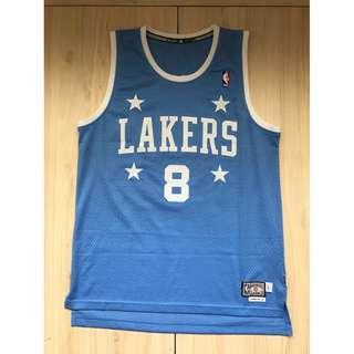 Adidas NBA 湖人隊 Kobe Bryant 球衣 L號