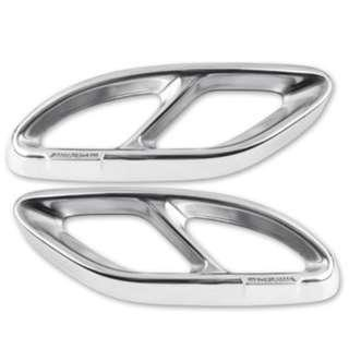 Rare Mercedes C,CLA,GLC, E Class Exhaust tip splitter improved ///AMG Version