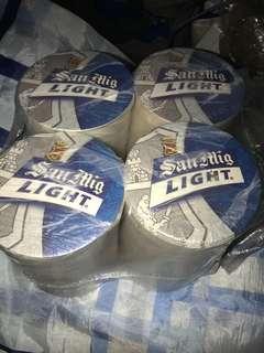 全新紙造生力啤酒杯墊 (自行出價)