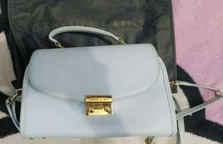 Charles and keith Ori Baby Blue