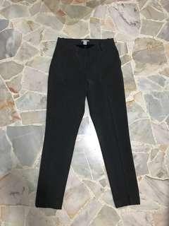 H&M women's grey tailored pants