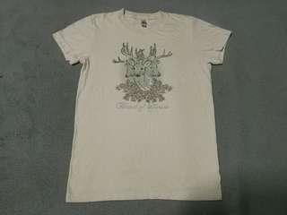 BAND OF HORSES band tee for ladies