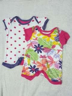 Preloved Mothercare Baby Onesies (Take All Set)