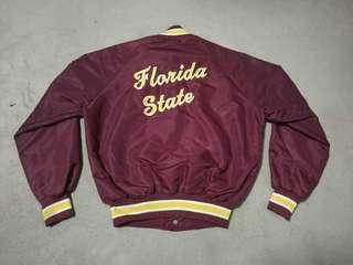 Vintage 80's FLORIDA STATE satin jacket